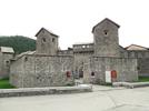 Montée : Col d'Allos depuis Colmars, Commentaire : Le village de Colmars est splendide. Il est entièrement fortifié et restauré.