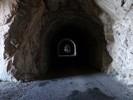 Auteur : Loic L, Commentaire : depuis les trouées du tunnel, on peut admirer toute la vallée du Rhône...  Magnifique