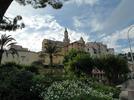 Montée : Col de Castillon depuis Menton, Commentaire : Vieille ville de Menton.