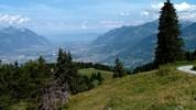 Auteur : Loic L, Commentaire : la vallée du Rhône et au fond, le Léman.