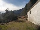 Montée : Mine de la Batere depuis Arles sur Tech, Commentaire : Sentier de randonnée partant de la dernière épingle.