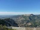 Montée : Mont Faron depuis Toulon, Commentaire : Le Gros Cerveau et Toulon depuis le sommet du Faron