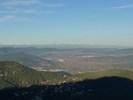 Montée : Mont Coudon depuis La Valette du Var, Commentaire : La Vallée du Gapeau et les Alpes depuis le Mont Coudon