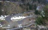 Auteur : Philippe marie F, Commentaire : Cette photo montre bien le dénivelé du pied du barrage de Fabrèges à son sommet (photo Sud-ouest).