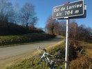 Montée : Col de Larrieu depuis Aspet, Commentaire : 'Petit' col, bien raide sur la fin