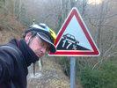 Montée : Col de Portet d'Aspet depuis Audressein, Commentaire : Descente dangereuse vers Aspet: humide, à l'ombre, une rampe à 17%, ça tourne et y'a des graviers ...