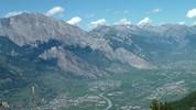 Auteur : Loic L, Commentaire : Panorama FA-BU-LEUX depuis l'avant-dernier km.  Quelle 'claque' j'ai pris en découvrant ce versant !