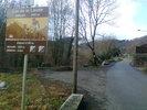 Montée : Col de la Lauze depuis Villeneuve d'Olmes, Commentaire : Ca démarre tranquille dans le village de Montferrier