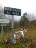 Montée : Col de la Lauze depuis Villeneuve d'Olmes, Commentaire : ... et un petit col confidentiel en haut ...