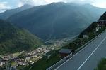 Auteur : Loic L, Commentaire : après 3 kms sur la route du col de la Forclaz, il faut prendre à droite : sommet des Vignes.