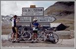 Montée : Col de l'Iseran depuis Lanslebourg, Commentaire : Alain au sommet