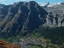 Auteur : Loic L, Commentaire : Après 1700m de dénivelé (depuis Susten, vallée du Rhône), on a la chance de voir ça : Loeche les bains ( 1400m)!
