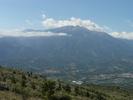 Montée : Col de Roquejalère depuis Sournia, Commentaire : Col de Roque Jalère - Le Canigou depuis le sommet