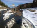 Author : Thomas F, Comment : Je comptais redescendre sur Espezel et Puivert par la D20: hélas trop de neige !
