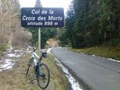 Montée : Col de la Croix des Morts depuis Belesta, Commentaire : Peu de voitures, un petit 5 degrés ...