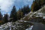 Auteur : Loic L, Commentaire : la neige fait son apparition...