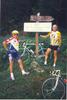Montée : Col des Cyclotouristes depuis Albertville, Commentaire : Avec Gégé 1997