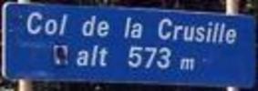 Montée : Col de la Crusille depuis Novalaise