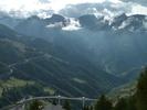 Auteur : Loic L, Commentaire : Depuis Rosswald, vue sur la montée du Simplon pass...