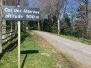 Montée : Col des Marrous depuis La Mouline, Commentaire : presque seul ... il fait beau .. çà, c'est du vélo.