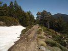 Montée : Etang d'Evol depuis Olette, Commentaire : 2 km de chemin de terre pour arriver à l'abri...