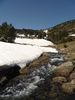 Montée : Etang d'Evol depuis Olette, Commentaire : Ce jour là encore un peu trop de neige pour monter à l'étang...