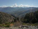 Montée : Col de Portus depuis Jujols, Commentaire : Une vue que l'on a une bonne partie de l'ascension (ou de la descente) par ce versant