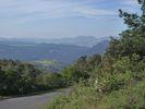 Montée : Col de las Couloumines depuis Ansignan, Commentaire : Vue sur les Corbières au nord.