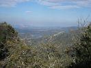 Montée : Col de las Couloumines depuis Ansignan, Commentaire : Vue sur la retenue d'eau de Caramany
