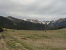 Montée : Col de l'Estagnol depuis Le Tech, Commentaire : Le Col! avec vue sur la Serra del Roc Negre en arrière plan.