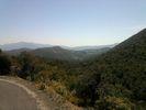 Montée : Col de Prunet de Baix depuis Caixas, Commentaire : En arrière plan, la frontière montagneuse avec l'Espagne.