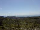 Montée : Col de Vence depuis Vence, Commentaire : La grande bleue en direction du sud-est. On aperçoit Nice.