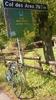 Montée : Col des Ares depuis Fronsac, Commentaire : le sommet du col juste a cote de la petite auberge