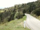 Montée : Col de Serre-Mure depuis Saint Laurent du Pape, Commentaire : La dernière rampe!!!