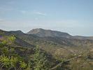 Montée : Col de Banyuls depuis Banyuls, Commentaire : Vue sur la tour Madeloc depuis la route du col.
