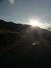 Montée : Tour Madeloc depuis Banyuls, Commentaire : Après un long faux plat, la pente revient fort l'objectif est en vue (et le soleil en pleine face).