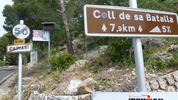 Montée : Col de sa Batalla depuis Caimari, Commentaire : Top départ
