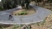 Montée : Col de sa Batalla depuis Caimari, Commentaire : La route est belle, en très bon état.