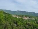 Auteur : Benoît G, Commentaire : Le village de Corsavy. Il reste 12 km !