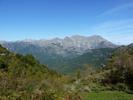 Montée : Col de Scalella depuis Bastelica, Commentaire : Le Monte d'Oro, depuis le col de Scallela