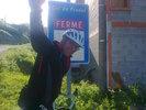 Montée : Col du Pradel depuis Ax les Thermes, Commentaire : En fait, il est ouvert depuis 2 jours (17 mai 2014)