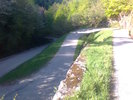 Montée : Col du Pradel depuis Ax les Thermes, Commentaire : Beau lacets, pente 10-12%