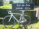 Montée : Col de Crie depuis Saint Didier sur Beaujeu