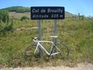 Montée : Col de Brouilly depuis Quincier, D37