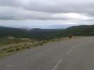 Montée : Col de Bigorno depuis Volpajola, Commentaire : Sommet du col avec la vue sur le cap corse
