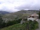 Montée : Col de Bigorno depuis Volpajola, Commentaire : vue sur les 02 derniers km en lacets. la route que l'on voit en bas ne fait pas partie de la montée. (sauf si on passe par Lento)