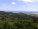 Montée : Col de Bigorno depuis Volpajola, Commentaire : Photo prise sur la route qui accède au départ de l'ascencion. Village de Borgo.