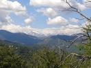 Montée : Col de Prato depuis Ponte Leccia, Commentaire : Vu sur le Monte Rotondo qui surplombe la ville de Corte