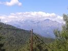 Montée : Col de Prato depuis Ponte Leccia, Commentaire : Vu sur le Massif du Cinto et les aiguilles de Popolasca