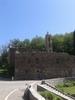 Montée : Col St Antoine depuis Barchetta, Commentaire : Le couvent qui nous attend en haut de la montée